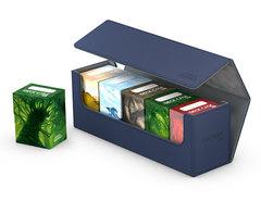 Ultimate Guard - Синяя кожаная коробочка для хранения 400+ карт