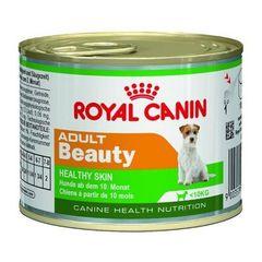 Royal Canin Adult Beauty влажный корм мусс для взрослых собак с 10 месяцев и весом менее 10 кг, для поддержания здоровья шерсти и кожи