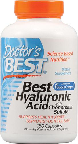 Здоровье суставов Doctor's Best Hyaluronic Acid with Chondroitin Sulfate -- 180 Capsules Doctors-Best-Hyaluronic-Acid-with-Chondroitin-Sulfate-753950002289.jpg