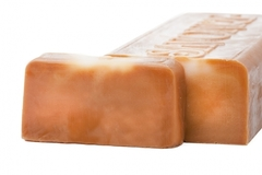 Натуральное мыло с люфой Сладкая штучка (Сливочная ириска), 100g ТМ Savonry