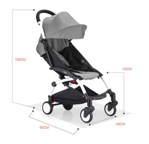 Детская коляска Yoya 6+ серая напрокат