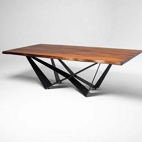 replica table CATTELAN SCORPIO  WOOD ( by Steel Arts)