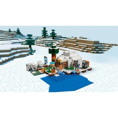 Конструктор LEGO Minecraft Иглу 21142