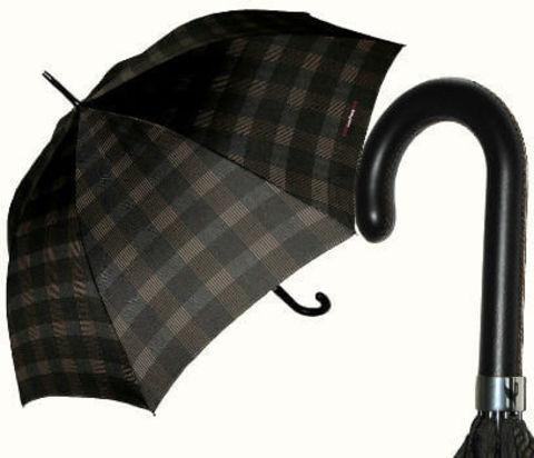 Купить онлайн Зонт-трость Maison Perletti 16214-b Scottish design в магазине Зонтофф.