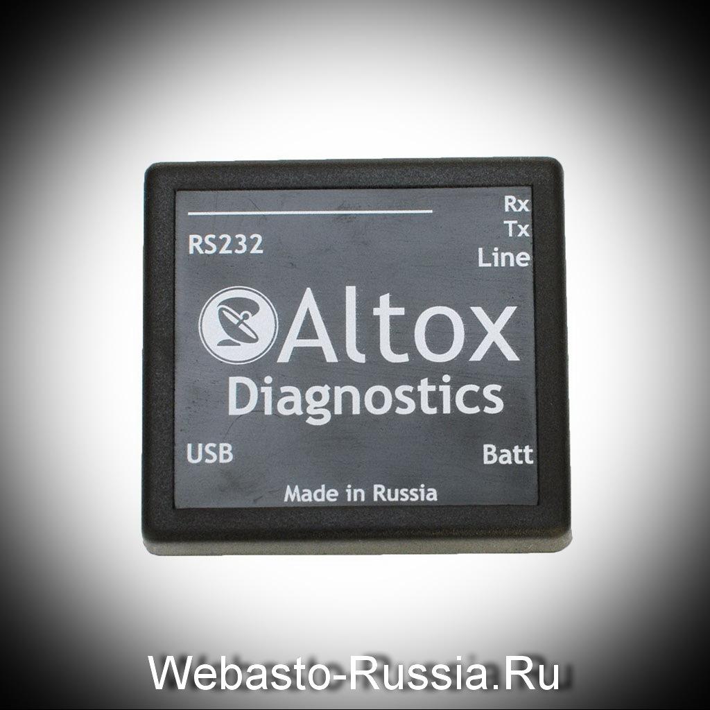 Адаптер к вебасто  для диагностики 195