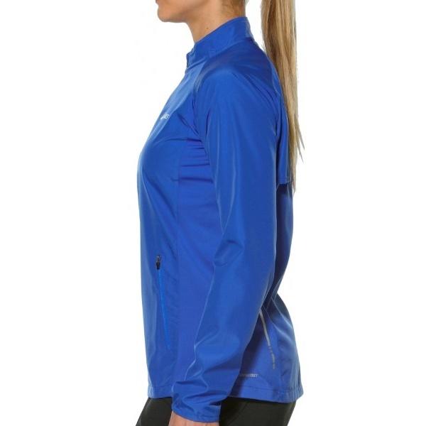 Женская куртка ветровка Asics Woven Jacket (110426 8091) синяя фото