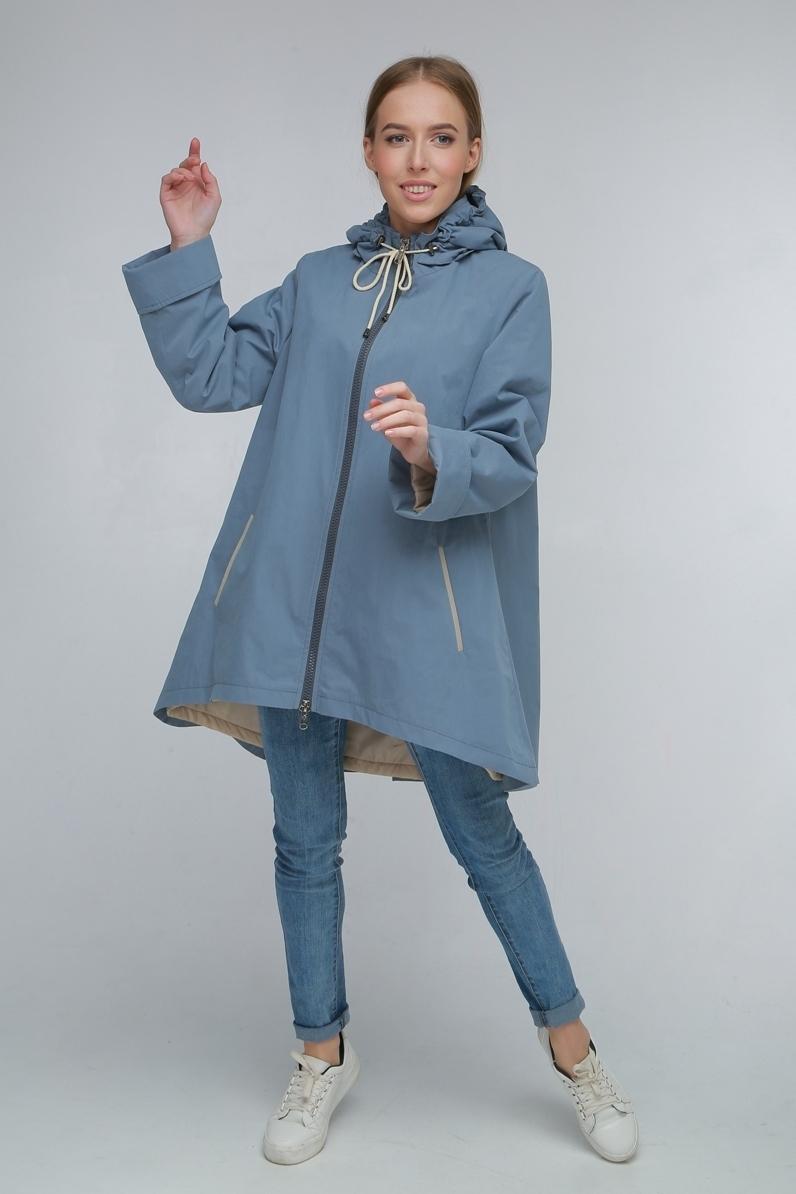 Утепленная куртка-трапеция