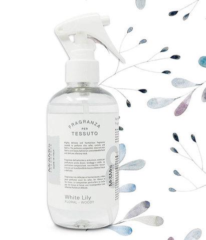 Спрей для дома и текстиля Laundry Белая лилия, Mr&Mrs Fragrance
