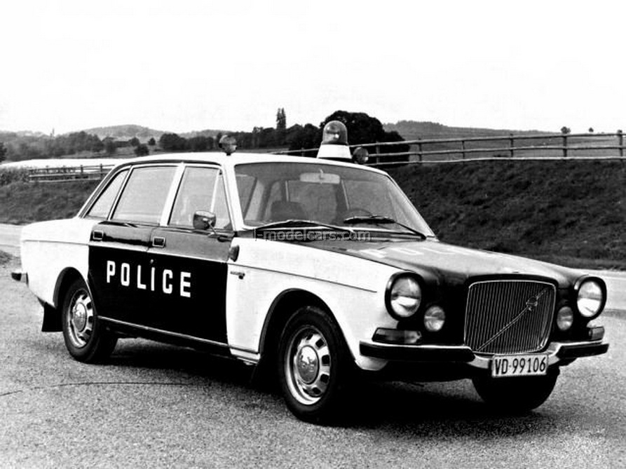 Volvo 164 Sweden Police 1:43 DeAgostini World's Police Car #77