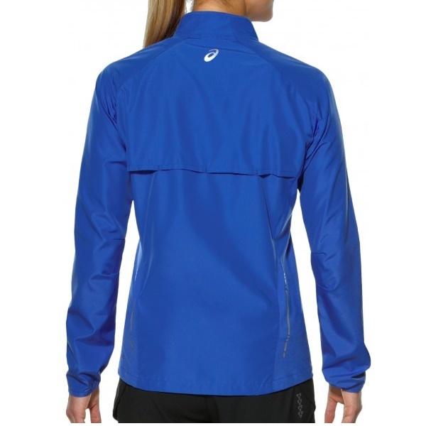 Женская спортивная ветровка Asics Woven Jacket (110426 8091) синяя фото