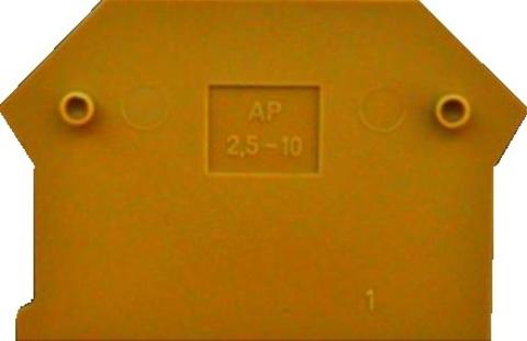 AP 2,5-10 YE крышка желтого цвета Артикул: 2001.8