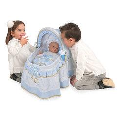 Decuevas Кроватка для куклы с козырьком из серии Кэрол, 46 см (51127)