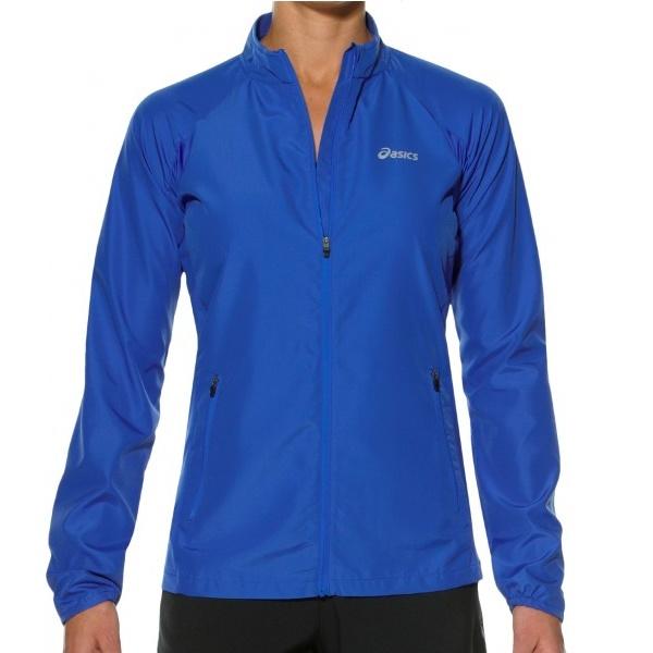 Женская ветровка для бега Asics Woven Jacket (110426 8091) синяя фото