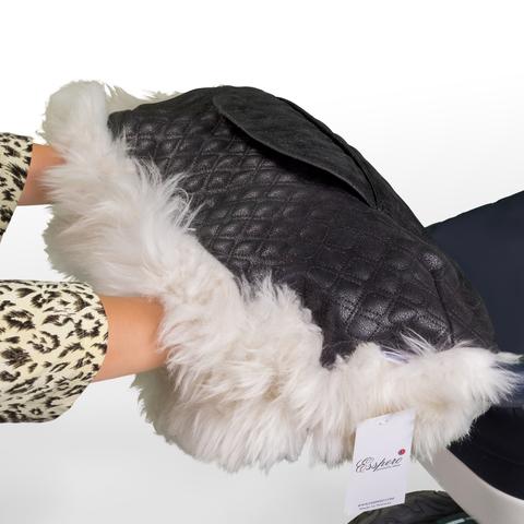 Муфта Esspero Magda для рук на коляску (Натуральный мех)
