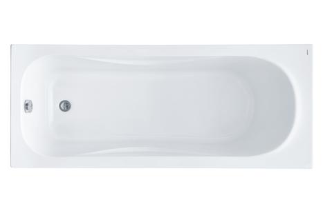 Акриловая ванна Santek Тенерифе 160х70 прямоугольная белая 1WH302357