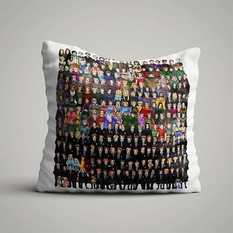 Подушка со всеми героями