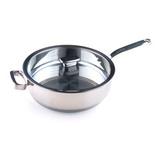 Глубокая сковорода с дополнительной ручкой 4,5 л (28см) Positano, артикул ZCU51411AF, производитель - Zanussi
