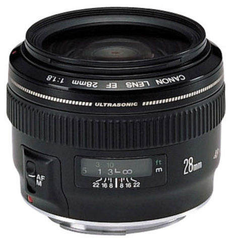Canon EF 28mm f/1.8 USM (JAPAN)