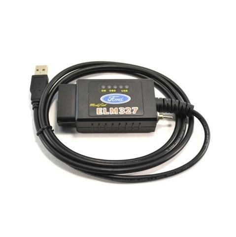 Автосканер ELM 327 usb v1.5 (с переключателем HS MS)