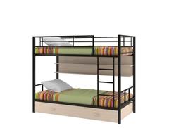 Кровать двухъярусная Севилья 2 с полкой и ящиком