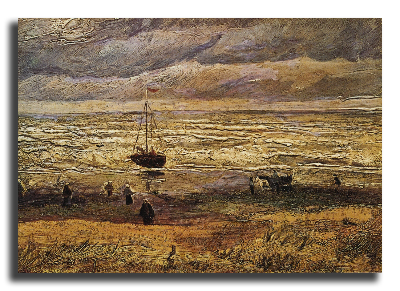 """Ван Гог Репродукция """"Ван Гог - Вид на море у Схевенингена"""" Х2.png"""