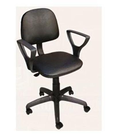 Кресло ФОРУМ 2 кожзам черный