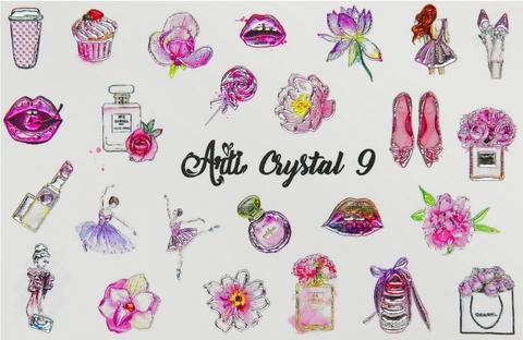 Слайдер Arti CRYSTAL № 009