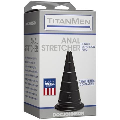 Анальная пробка серии TitanMen - Anal Stretcher 6 Plug фото