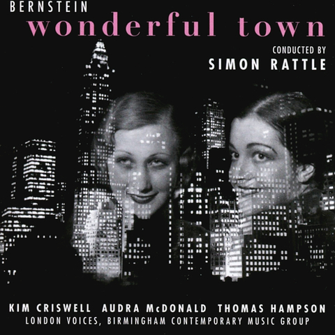 Birmingham Contemporary Music Group,‎ Simon Rattle / Bernstein: Wonderful Town (CD)