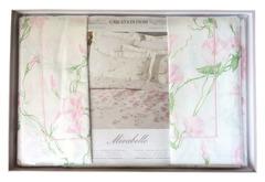 Постельное белье 2 спальное евро Mirabello Cascata di Fiori розовое