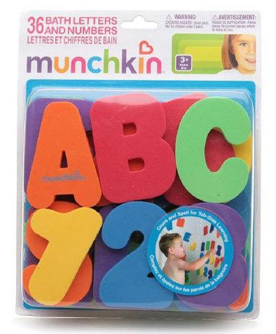 Игрушка для ванны Буквы и цифры Munchkin 24+