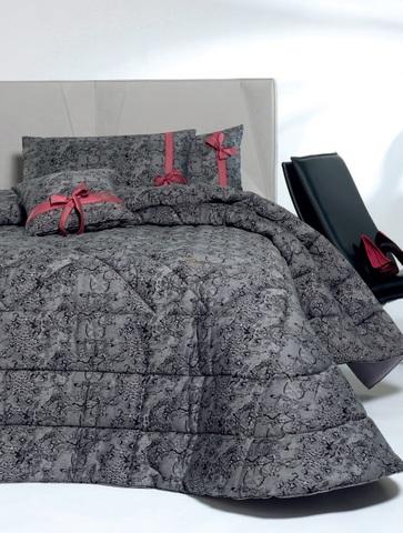 Постельное белье 2 спальное Cesare Paciotti Dentelle серое