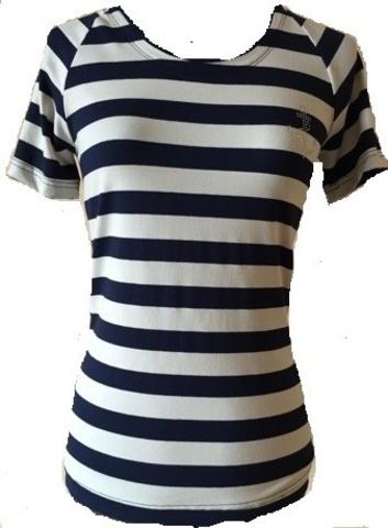 Тельняшка-футболка с рукавом реглан