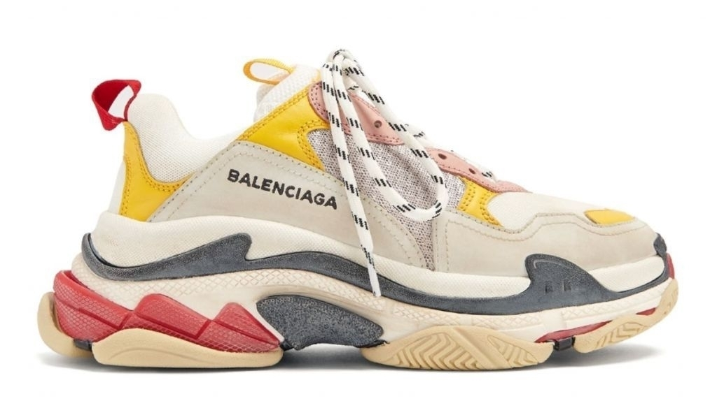 Balenciaga Triple S (Cream/Yellow/Red) (010)