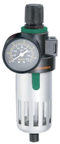 JAZ-0532 Фильтр-сепоратор с регулятором давления для пневматического инструмента 1/4