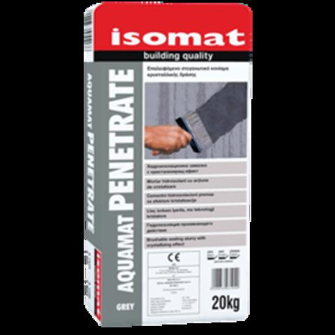 Isomat Aquamat Penetrate/Изомат Аквамат Пенетрат обмазочная гидроизоляция проникающего действия