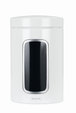 Контейнер для сыпучих продуктов с окном (1,4 л), Белый, арт. 491009 - фото 1