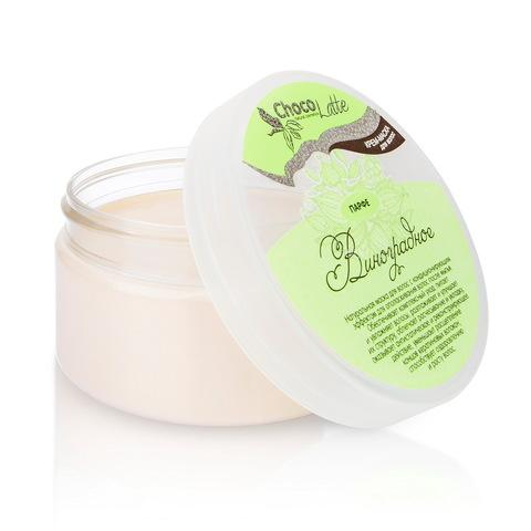 Крем-маска кондиционер для всех типов волос ПАРФЕ ВИНОГРАДНОЕ с соком и экстрактом винограда 200 мл ТМ ChocoLatte