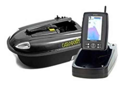 Carpboat mini carbon + Эхолот TF500