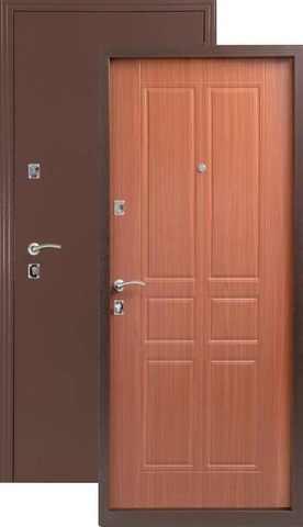 Термодверь входная МЕТТА ТЕПЛОДВЕРЬ, 2 замка, 1,5 мм  металл, итальянский орех
