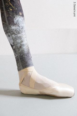 Zigsi leggings, stained in print Mud