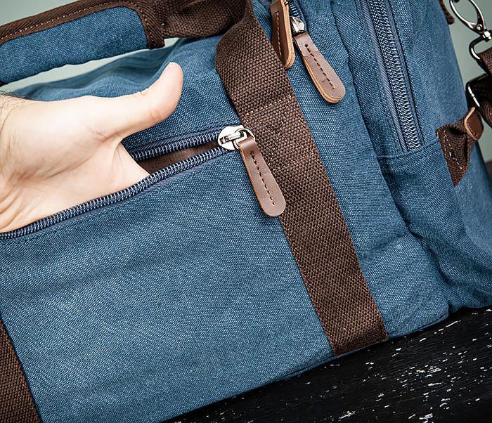 BAG502-3 Дорожная сумка для ручной клади средних размеров фото 09