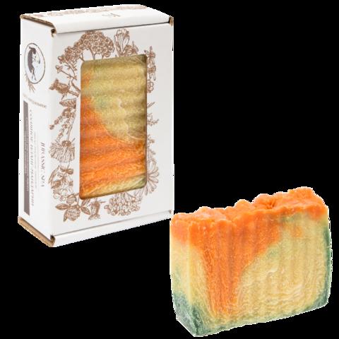 Jurassic SPA, Соляное мыло, иланг + мандарин, 110г