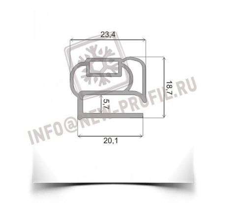 Уплотнитель для морозильника Бирюса 14  760*550 мм (014/013)