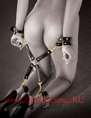 Бондаж с фиксацией рук и ног Fantasy Hogtie