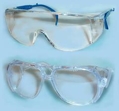 Защитные очки медицинские Eyewear IC 1000 (серые/синие)