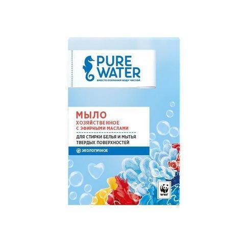 Хозяйственное мыло с эфирными маслами Pure Water 175 г