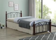 Кровать двуспальная SB-219 шириной 140 см (Dirty Oak 15792)
