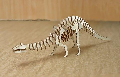 Конструктор из дерева Динозавр