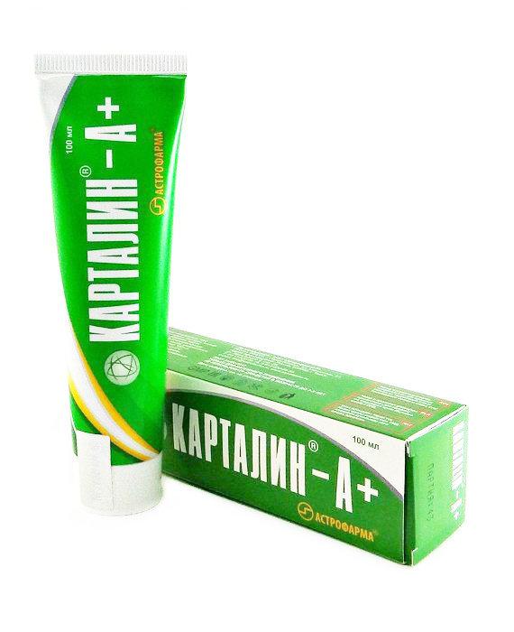 Карталин А+ крем 100 мл.
